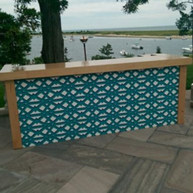 Custom Made Wooden Textile Bar