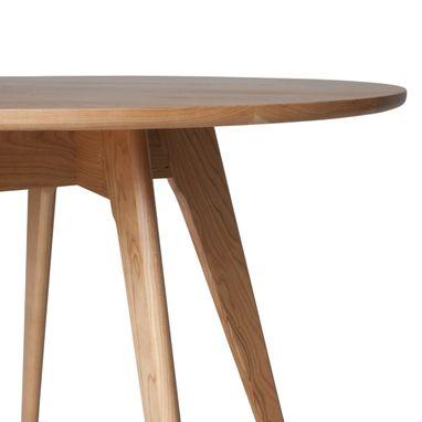 Hand Crafted Round Kitchen Table, Mid Century Modern ...
