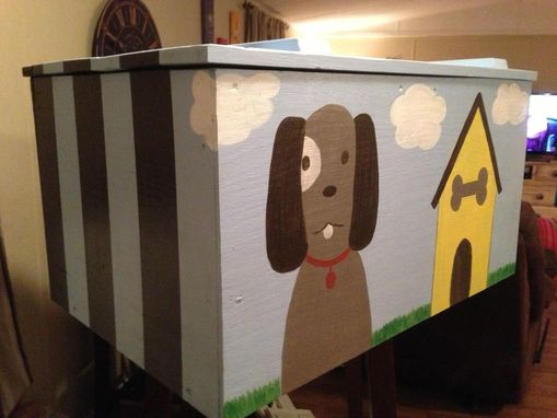 Custom Made Large Boys Toy Box