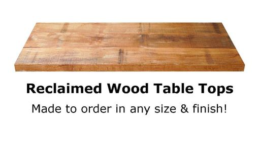Custom Made Reclaimed Wood Table Tops By Rustic Furniture Hut