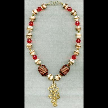 Custom Made La Reine Rouge Necklace