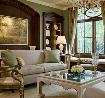 Custom Made Living Room Millwork With Built-In Bookcases