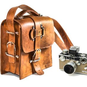 Handmade Leather Camera Bags Cases