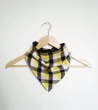 Custom Made Buffalo Plaid Check Bandana Scarf