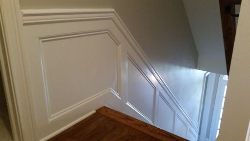 Custom Made Staircase Wainscoting