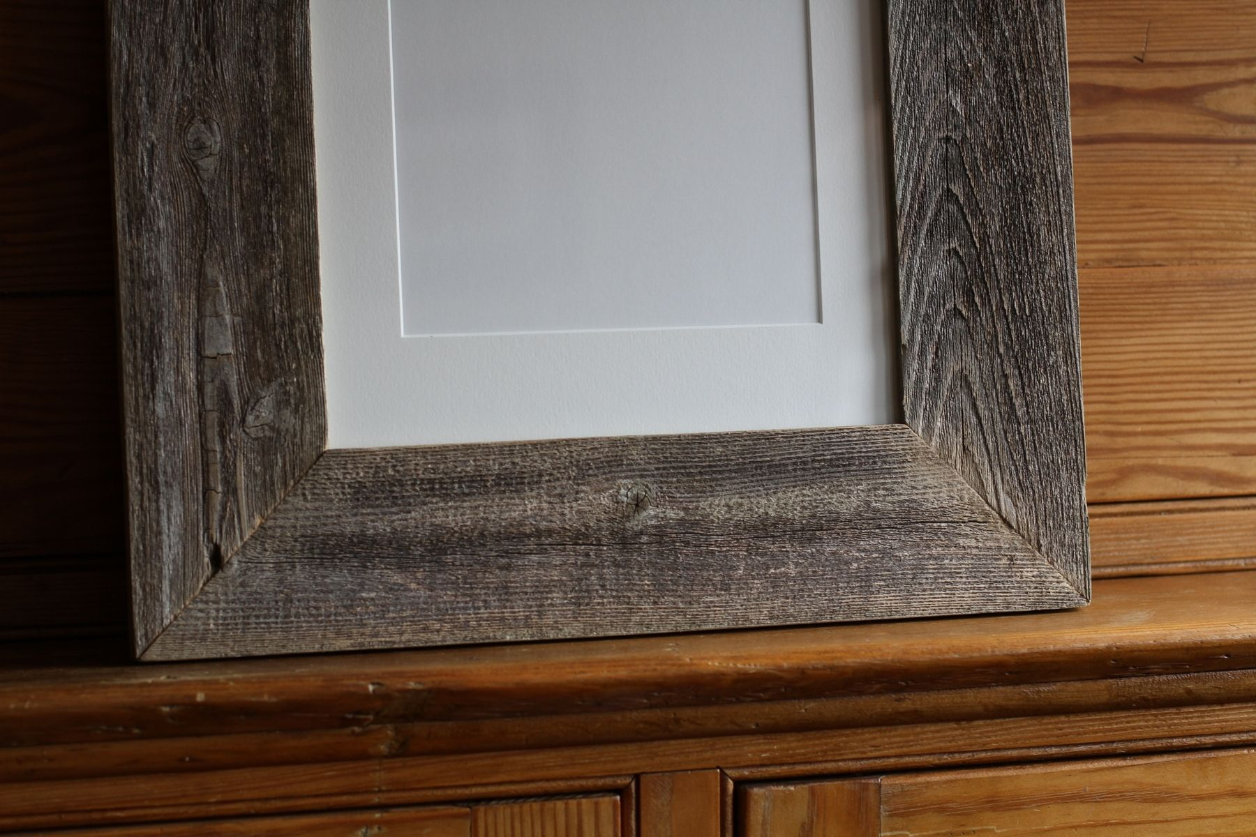 Handmade custom made 11x14 reclaimed cedar frame by reclaimed llc custom made custom made 11x14 reclaimed cedar frame jeuxipadfo Images