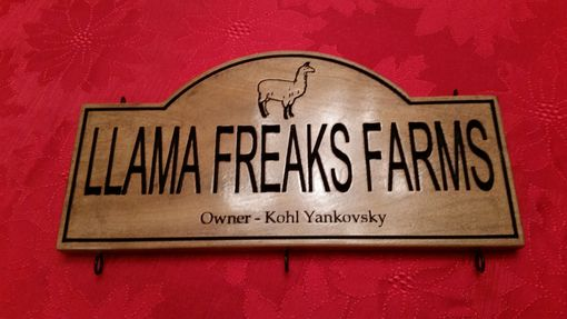 Custom Made Design You Own Plaques