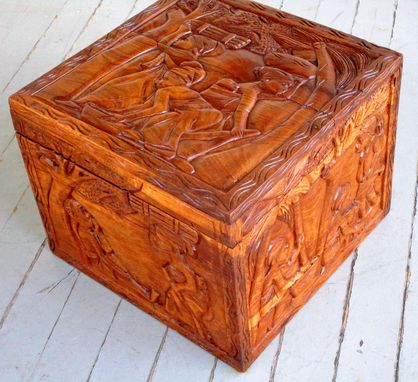Custom Made African Rosewood Box