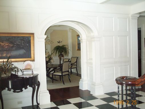 Custom Made Entry To Diningroom
