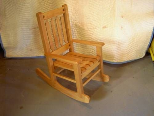 Custom Made Childs Rocker