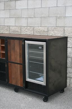 Buy A Handmade Beverage Center Liquor Cabinet