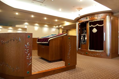 Custom Made Synagogue Bimah & Aron Kodesh