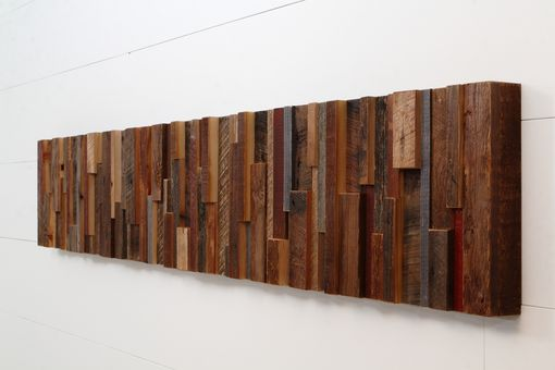 Custom Made Reclaimed Wood Wall Art