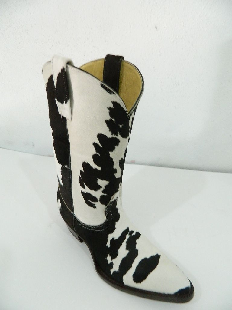 Hand Crafted Genuine Calf Hair Cowboy Boots Made To Order