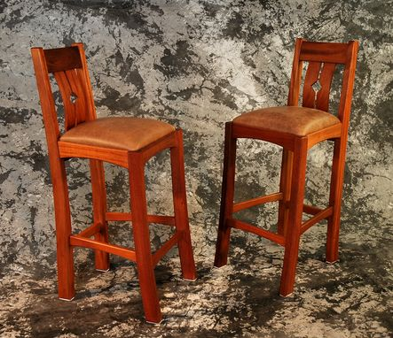 Custom Made Diamondback Bar Stools