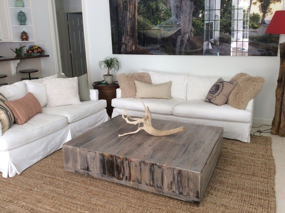 Square Reclaimed Coffee Table