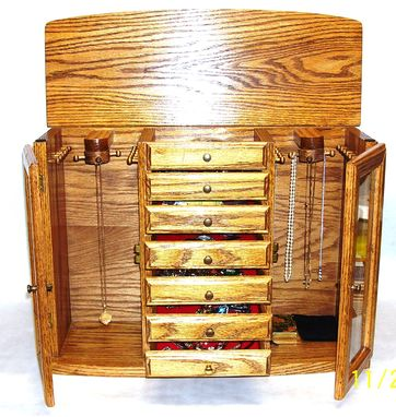 Custom Made Jewelry Chest