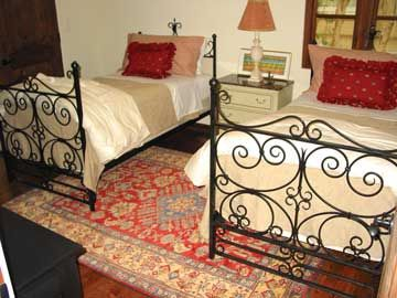 Custom Made Forged-Iron Bed, Wrought Iron Bed