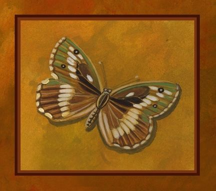 Custom Made Set Of 4 Prints Of Butterflies