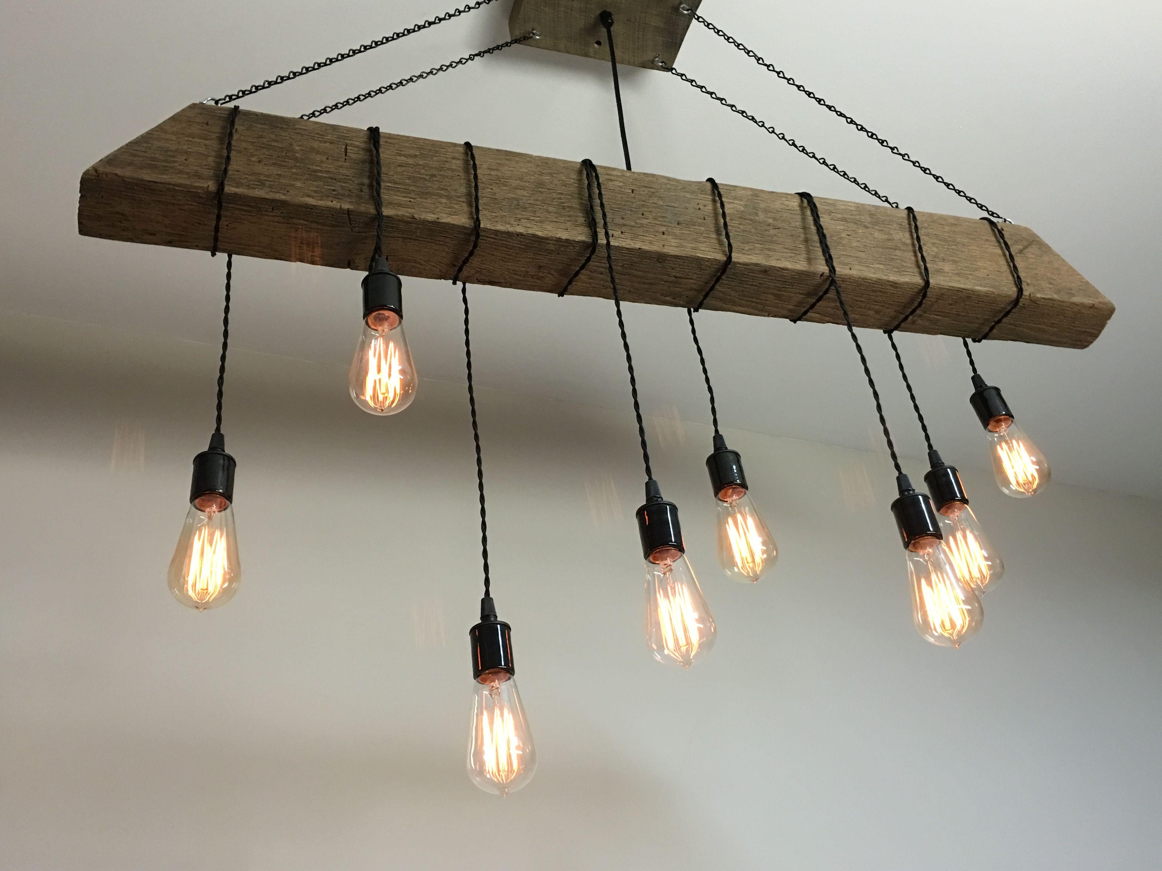 beam light fixture bar restaurant home edison bulb rustic modern. Black Bedroom Furniture Sets. Home Design Ideas