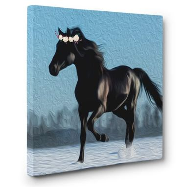 Custom Made Horse Canvas Wall Art