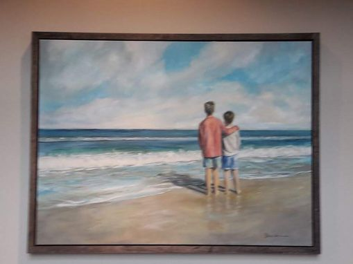 Custom Made Two Brothers On The Atlantic Seashore