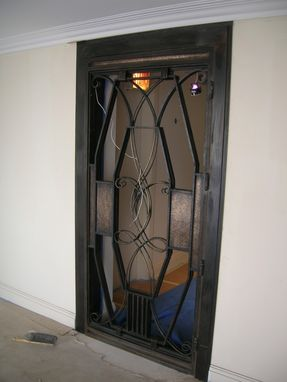 Custom Made Bronze Door -Forged Bronze