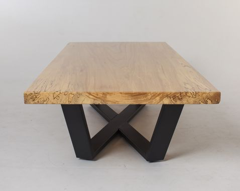 Custom Made (Sold) Elm Slab Coffee Table