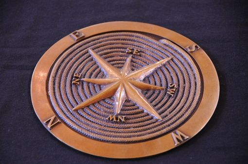 Custom Made Bronze Compass Rose 2