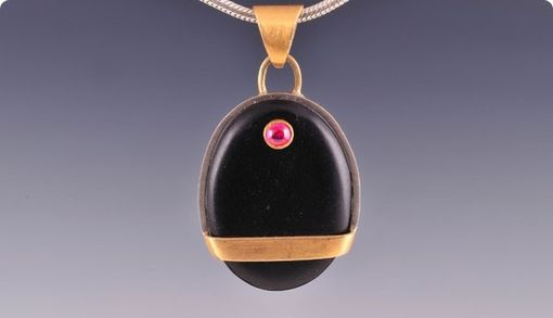 Custom Made Ruby Pendant