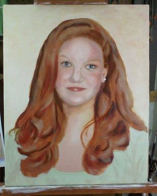 Custom Made Portrait In Oil