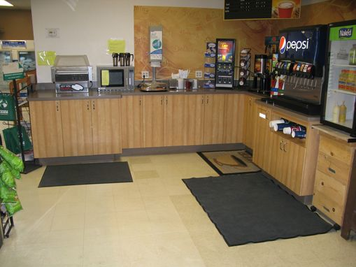 Custom Made Commercial--Market Drinks Counter