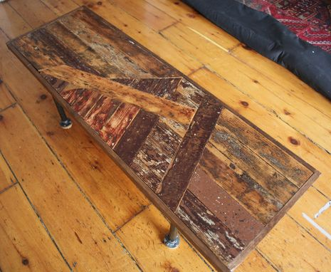 Custom Made Sail Boat Bench