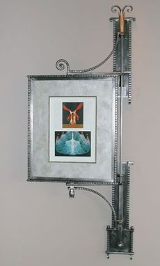 Custom Made Iron And Stainless Steel Picture Frame