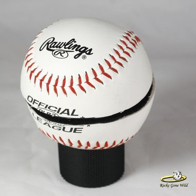 Buy A Hand Made Baseball Ring Box Made To Order From