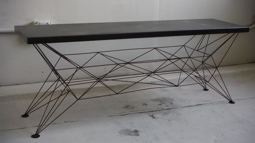 Custom Made Truss Coffee Table