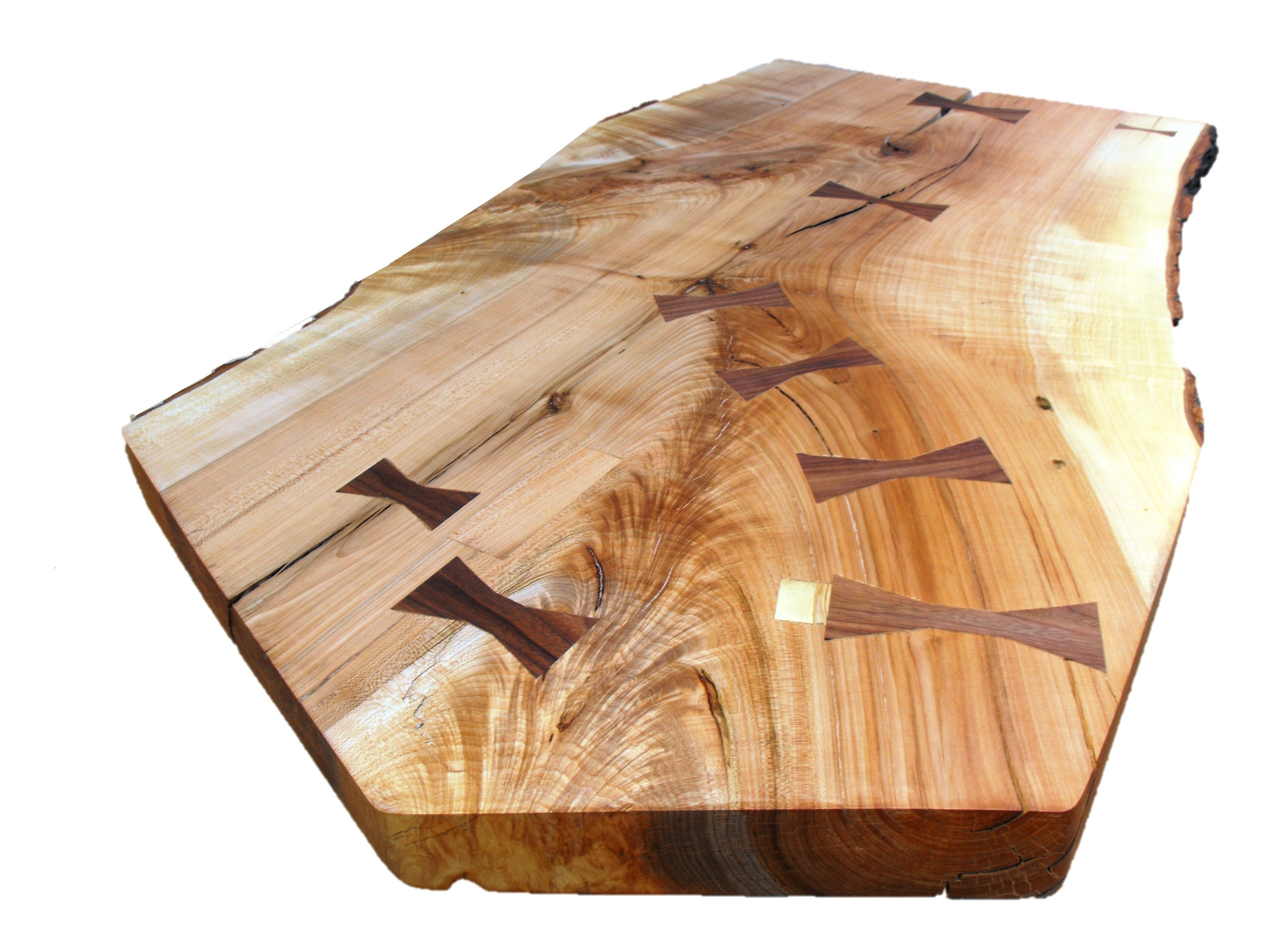 Custom Five Sided Ambrosia Maple Live Edge Table By