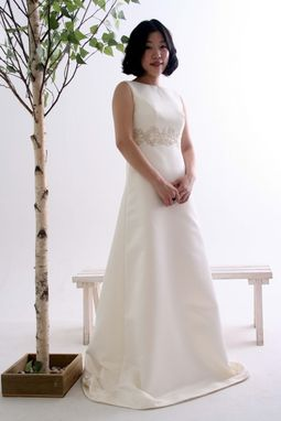 Custom Made Wedding Dress - Simple And Elegant Retro Style
