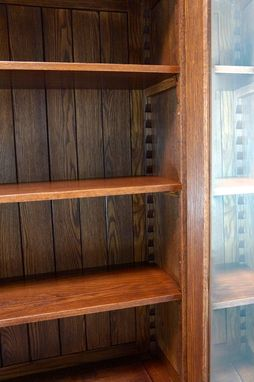 Custom Made Oak Hutch - Reclaimed Family Heirloom