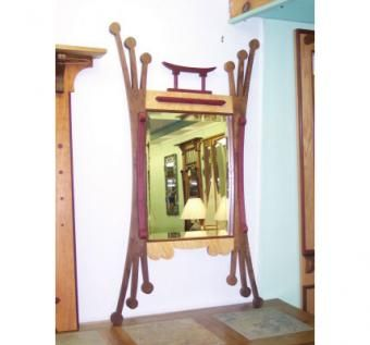 Custom Made Asian Inspired Mirror