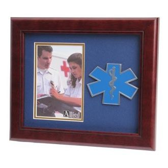 Custom Made Ems Frame 4x6 Ems Medallion Portrait Picture Frame