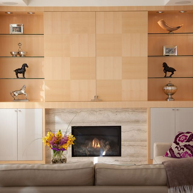 Hand Crafted Media Maple Wall Unit By Soma Furniture Inc