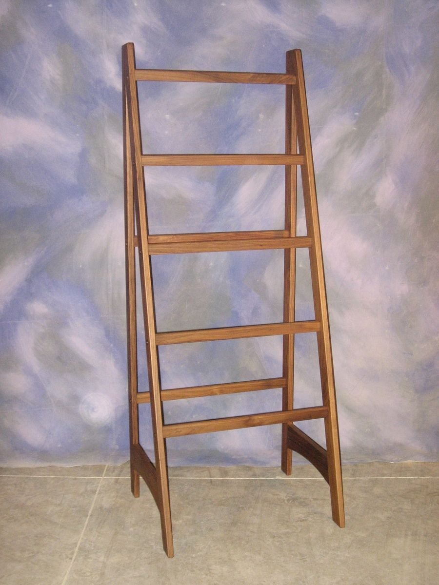 Hand Crafted Quilt Ladder By Schanz Furniture And