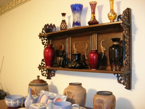 Custom Made Fretwork Display Shelf