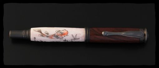Custom Made Koi Fountain Pen