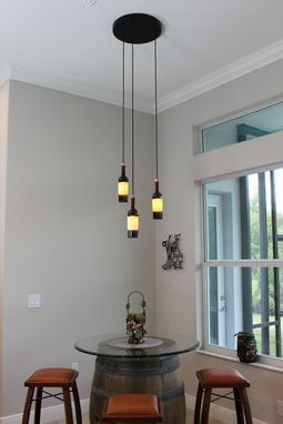 Custom Made Triple Pendant Light