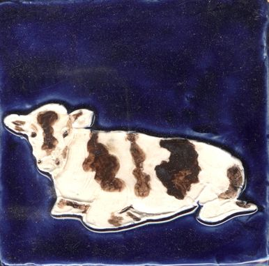 Custom Made Farm Animals - The Cow Tile Collection