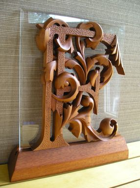 Custom Made Hand Carved Monograms, Signs, Monograms, Wall Art, Woodcarving