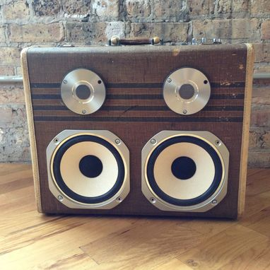 Custom Made The Hifi Case - Speaker Suitcase