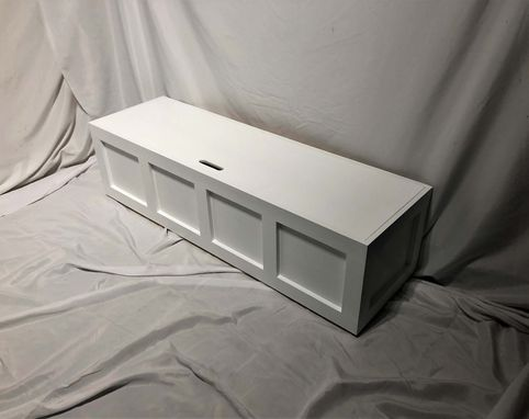 Custom Made Shaker-Style Window Bench (Painted)